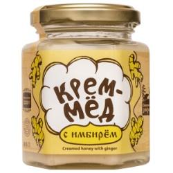 Creamed honey with ginger 220 g