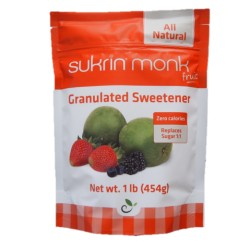 Sukrin Monk Fruit, dabīgs saldinātājs, 454 g