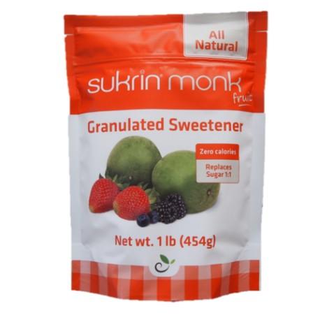 Sukrin Monk Fruit natural sweetener 454 g