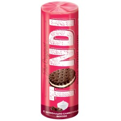 Tondi cookies sandwich with creamy chocolate flavor 182g