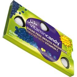 Jake vitamin Candy konfektes bez cukura ar vitamīnu C ar vīnogu garšu 15gab 18g