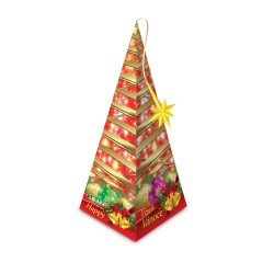 Liran Merry Christmas Tree Black tea with apple and cinnamon 20 tea bags x 2 g