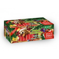 Liran Magic Christmas Green tea with orange and cinnamon 30 tea bags x 2 g
