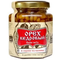 Кедровые орехи в сиропе из калины 220 г Сибирский Знахарь
