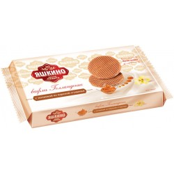 Waffles Yashkino Dutch with condensed milk filling 290g