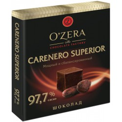 O`Zera tumša šokolāde Carenero Superior 97.7 % kakao 90g