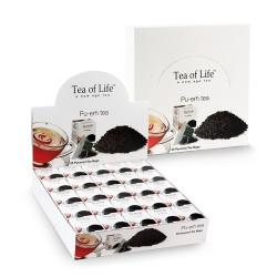 Tea of Life Pyramid Pu-erh красный чай в шелковом пакетике