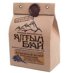 Altyn Bai tea drink from wild herbs SOULFUL EVENING soothing 100g
