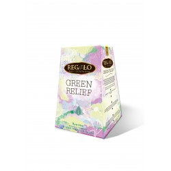 Regalo Green Relief Green tea with lime, thyme and blue mallow 2g x 15 pyramids