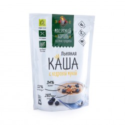 Flax porridge with cedar flour Oil King 300g