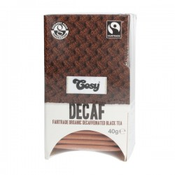 Cosy Tea DECAF Fairtrade Organic black tea 20 teabags (40g)