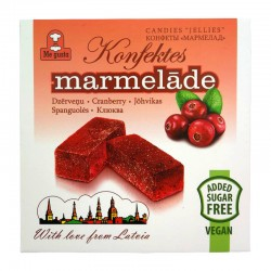 Me Gusta MARMELAD cranberry 150 g No sugar added, vegan