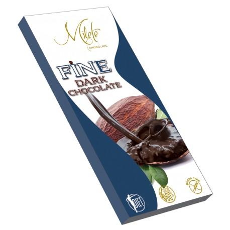 MILETE FINE dark chocolate with maltitol 80g