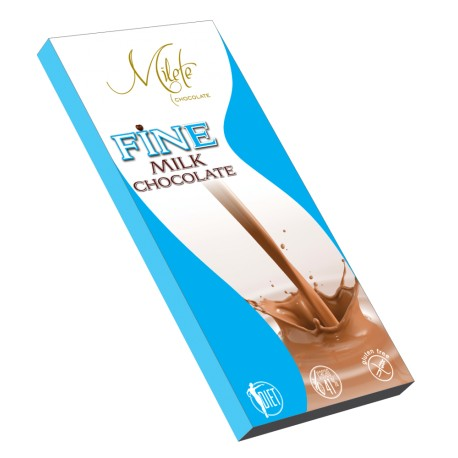 MILETE FINE milk chocolate with maltitol 80g