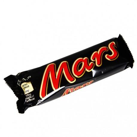 Mars chocolate bar 51g
