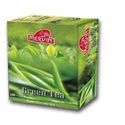 MERVIN Green tea 100 teabags, 180g
