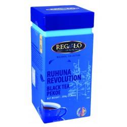 Regalo Regional PEKOE melna tēja Ruhuna Revolution plantācija 200g