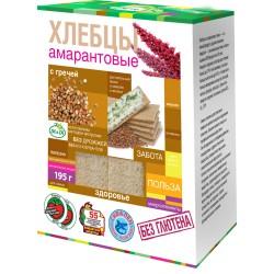 Di&Di Amaranth CRISPBREAD with Jerusalem artichoke and buckwheat Extruded 195g Gluten Free