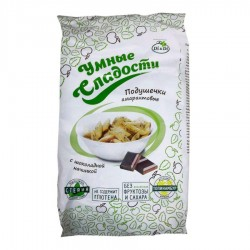 Di&Di PILLOWS Amaranth with stevia, with chocolate filling 150 g