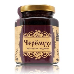 Siberian Bird cherry with sugar 220 g