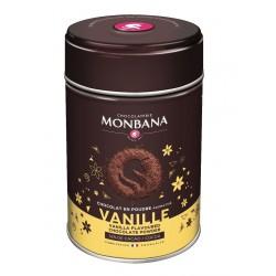Monbana šokolādes dzēriens ar vaniļas garšu 250g
