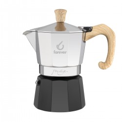 Forever Miss Moka Prestige Woody 3tc coffee pot (Italy)
