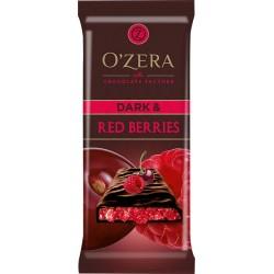 Сhocolate bar O`Zera Dark & Red berries 90g