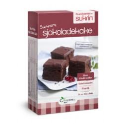 Šokolādes kūkas maisījums Sukrin, 410 g