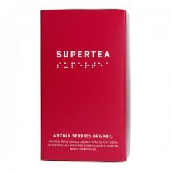 Teministeriet Supertea Organic zaļā tēja ar aroniju bio 20 tējas maisiņi