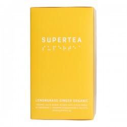 Teministeriet Supertea Lemongrass Ginger Organic 20 Tea Bags