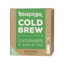 teapigs Cucumber & Apple Cold Brew tea pyramid 10 pcs
