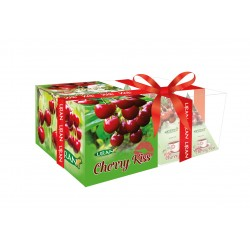 Liran Cherry Kiss Green Tea Collection pyramids 12x2g