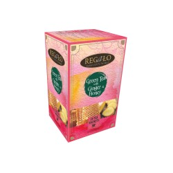 Regalo Green tea Ginger Honey 2gx20 tea bags