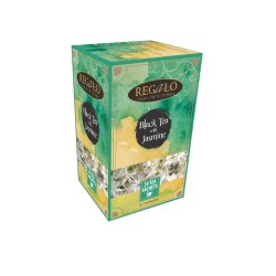 Regalo Black tea with jasmine 20x2g tea bags