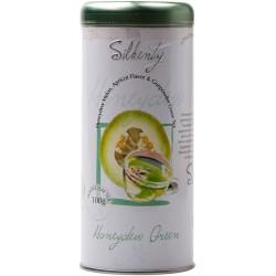 Silkenty Honeydrew Green Gunpowder zaļā tēja ar meloni un aprikozi 130 g
