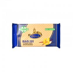 Fasētas krējuma-vaniļas vafeles ar fruktozi 105g Veresk