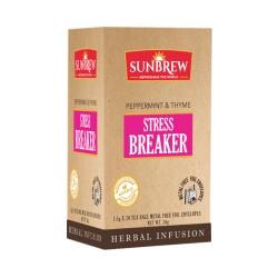 SUNBREW Stress Breaker Ayurvediс tea peppermint thyme 20 tea bags