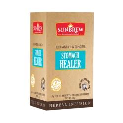 SUNBREW Stomach Healer Ayurvediс tea coriander & ginger 20 tea bags
