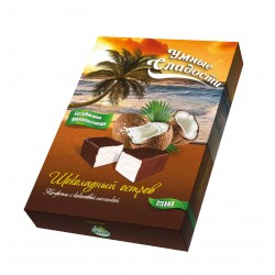 Smart sweets CANDIES with stevia coconut-chocolate taste 90g