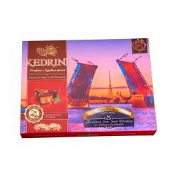 Konfektes Kedrini St.Peterburgas Pils Tilts. Sibīrijas rieksts, piena šokolāde, 160 g