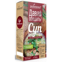 Peasant soup - mixture for making soup Polezzno 250g