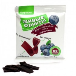 Snacks fruit and berry on fructose blueberry 35 g