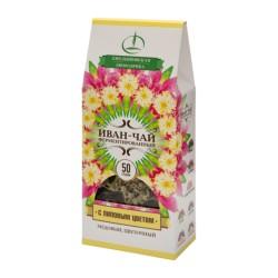 Ivan Tea Rose Bay Willow Herb Tea leaves with linden flowers 50g