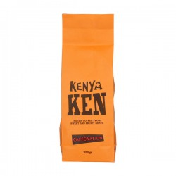 Кофе в зернах Caffenation KEN Kenya Muranga Weithaga PB 250г