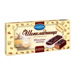 """Wafer cake """"Chocolate"""" with the taste of baked milk 180g"""