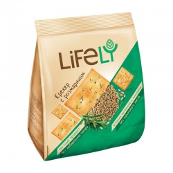 Crackers with rosemary Lifely 180 g
