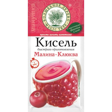 "Instant kisel drink ""Raspberry Cranberry"" 30g"