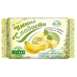 Smart sweets PASTILE banana with stevia 160 g No added sugar