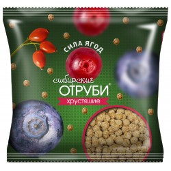 Siberian bran crispy berry force, 100 g