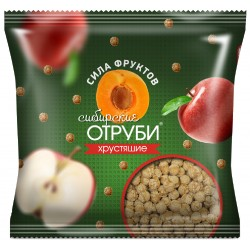Siberian bran crispy fruit force, 100 g